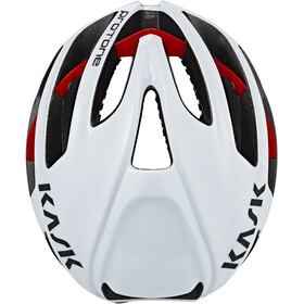 Kask Protone Cykelhjelm, white/red